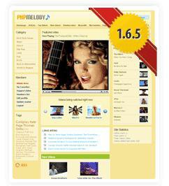 PHP Melody 1.6.5 Full Nulled