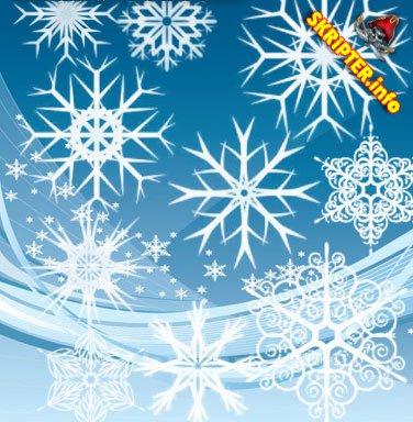 Падающий снег на сайт
