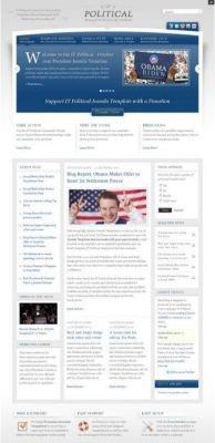 IT Political v1.0 - Шаблон для Joomla 1.5