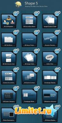Все модули Joomla! от студии Shape5