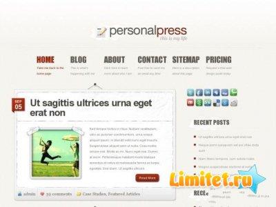 PersonalPress ElegantThemes Theme