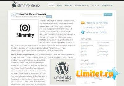 SimpleBlog Simplest WordPress Theme