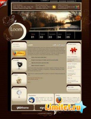 YooLoom- красивейший шаблон Joomla от YooTeam