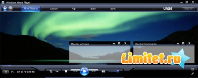 Windows Media Player Free Wordpress Template