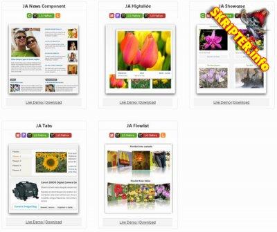 Коллекция модулей от JoomlArt