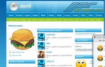 Мини социальная сеть Joovili 3.1.5 PL1 Nulled + Русификатор