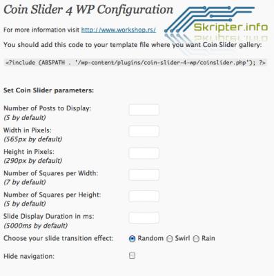 Coin Slider