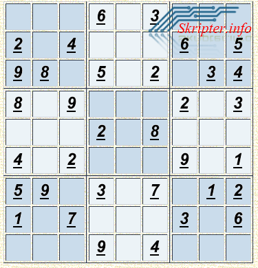 Sudoku MOD