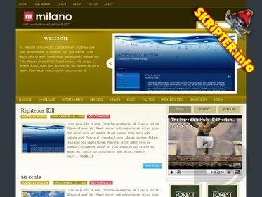 тема Milano