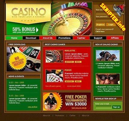 kasino skript flerspråklig til salgs