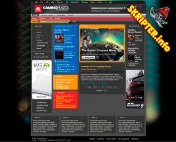 Шаблон Joomla TP Gaming Plazza