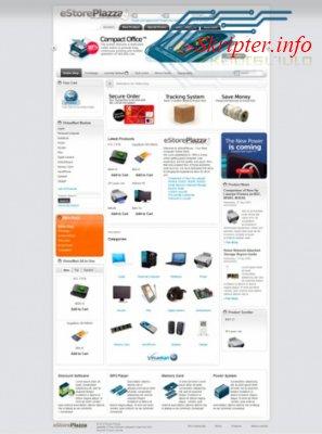 Шаблон Joomla TP eStore Plazza