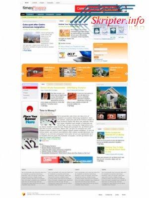 Шаблон Joomla TP Times Plazza