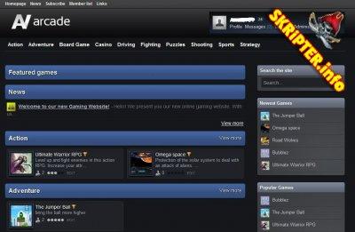 AV Arcade Pro 5.4.6 Games Script