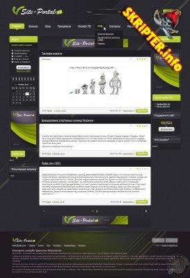 Шаблон Site-Portal для DLE 9.3