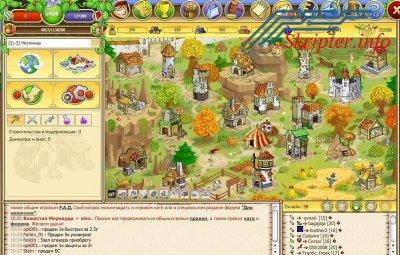 Скрипт браузерной онлайн игры Morward