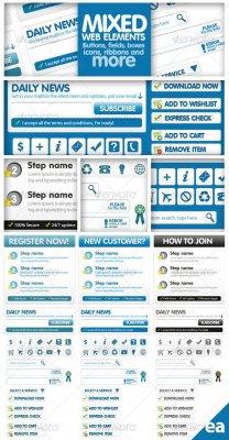 Mixed Web Elements