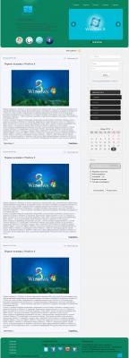 Windows 8 шаблон для Dle 9.6