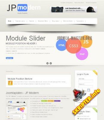 Шаблон JP Modern