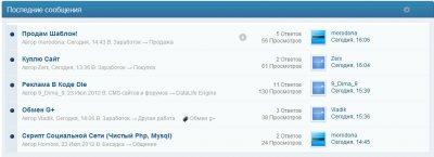Recent Topics 3.0.2 RUS