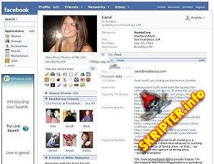 FaceBook clone v. 2.3