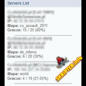 Мониторинг игровых серверов [IPB 3.3.x]