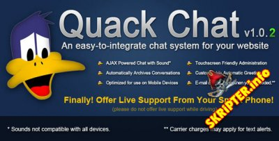 Quack Chat Live Chat System v1.0.2