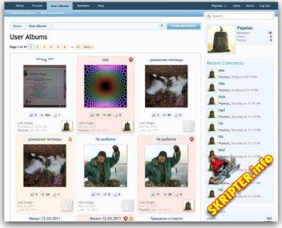 User Albums v.1.0.0 Beta 7 Rus