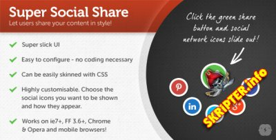 Super Social Share
