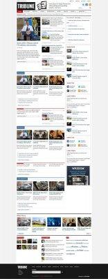 Шаблон Tribune v2.0.7