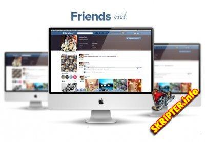 """VII ENGINE""""FRIENDS SOCIAL"""" + дополнения и исправления."""