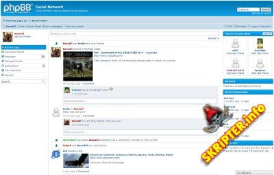 phpBB Social Network 0.7.2 released