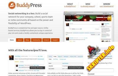 BuddyPress 1.7 Rus