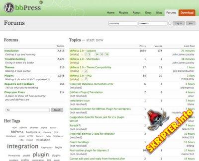 bbPress 2.5.4 Rus