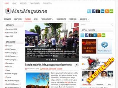 Шаблон MaxiMagazine