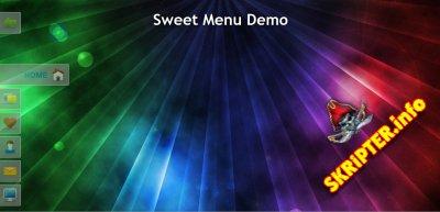 JQuery меню «Sweet Menu»