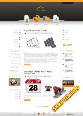 Красивый HTML CSS Шаблон