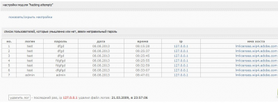 Модуль Hacking Attemptz 1.2 [8.x - 9.x]