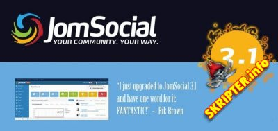 JomSocial 3.1.0.1 Stable Rus