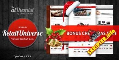 RetailUniverse - универсальный магазин для OpenCart