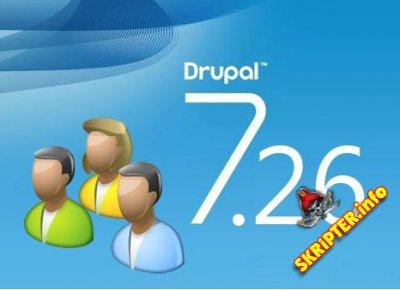 7.26 TÉLÉCHARGER DRUPAL