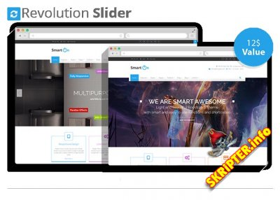 HTML Шаблон SmartOn 1.2.1