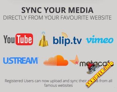SocialPlay v1.2.8 - шаблон медиа шаринга для Wordpress