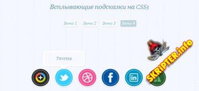 Всплывающие подсказки на CSS3