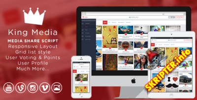 King Media 1.9.6 + All Plugins