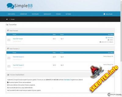 SimpleBB v2.2 Rus - модуль форума для DataLife Engine