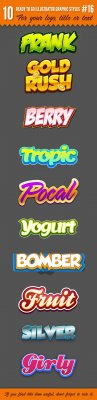 10 Logo Graphic Styles