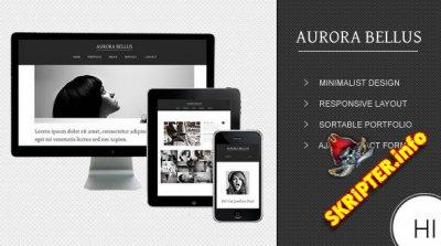 Aurora Bellus — премиум-шаблон HTML от MojoThemes