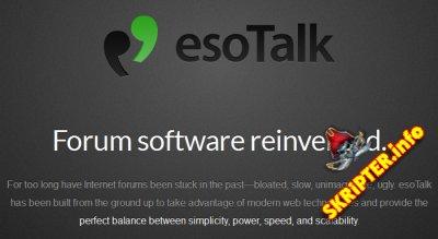 esoTalk 1.0.0g4 Rus