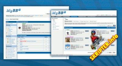 MyBB v1.8.19 Rus - форумный движок